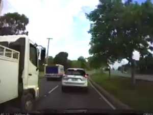 WATCH: Dangerous merging manoeuvre