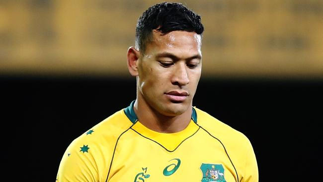 Folau is guilty of speaking his mind and sharing his beliefs, not encouraging hatred and violence. (Pic: Hannah Peters)