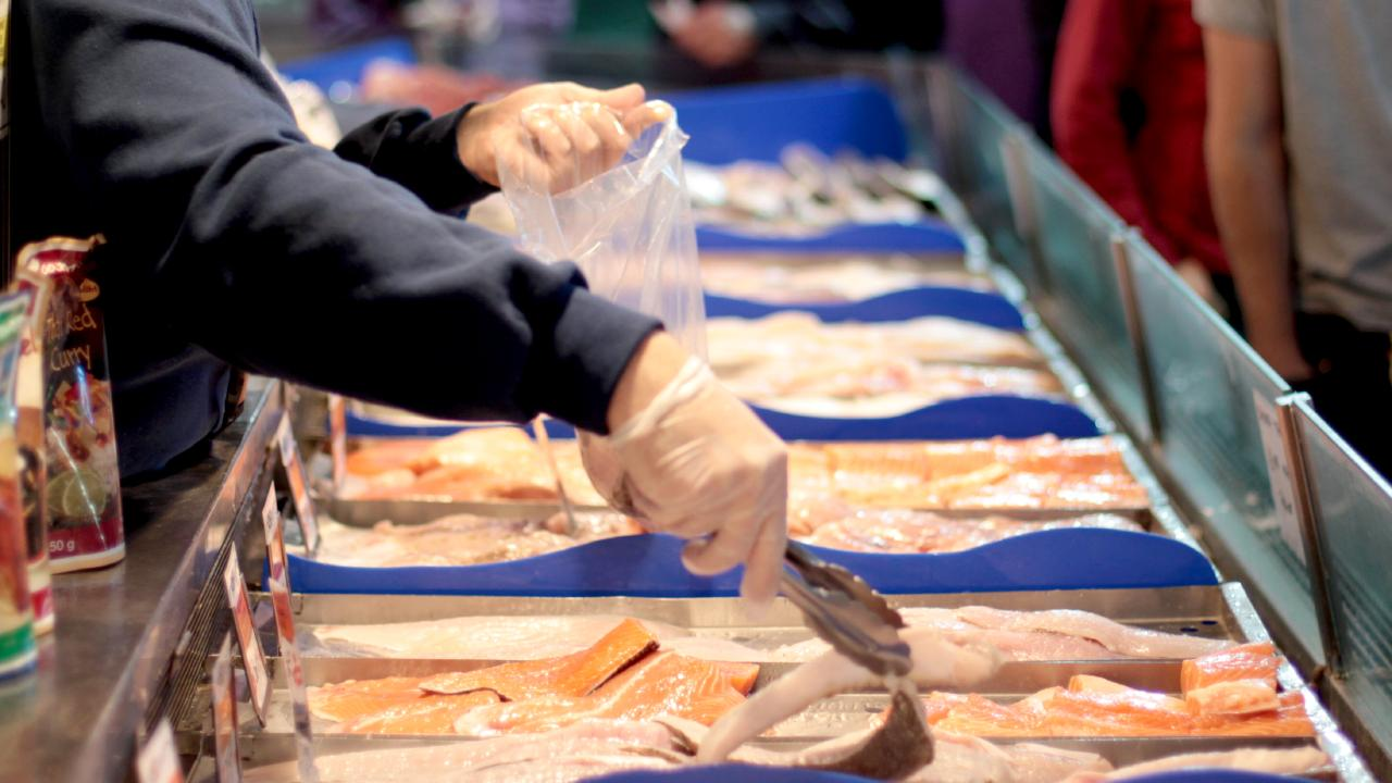 Morgan's Seafood at Scarborough details the origin of all its seafood. File picture