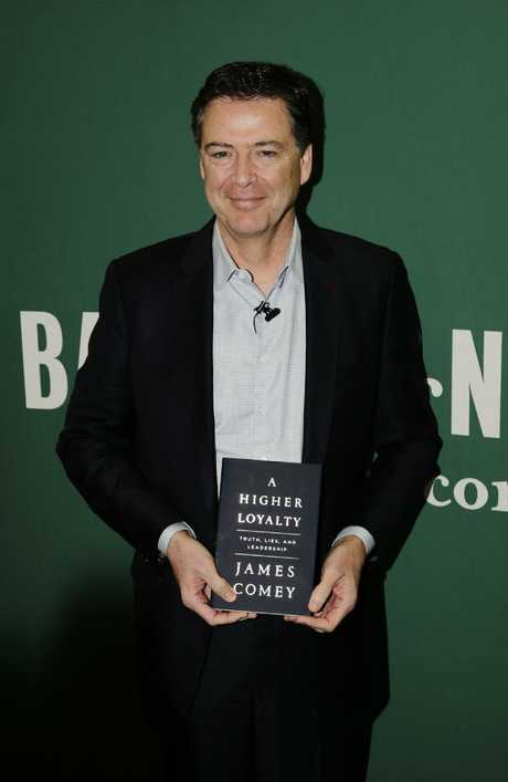 Former FBI director James Comey gave the interview with Sales while promoting his new book, A Higher Loyalty.