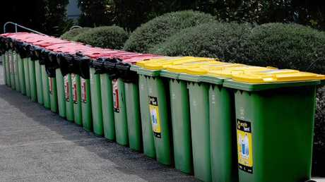Nappies go in the rubbish bin - not recycling. Picture: Patria Jannides