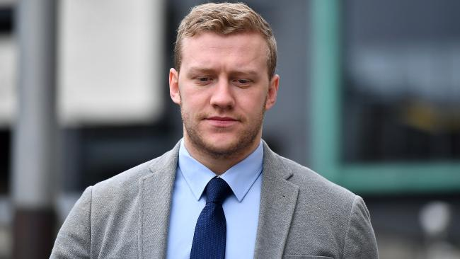 Stuart Olding was cleared of rape, but has been sacked by Ulster.