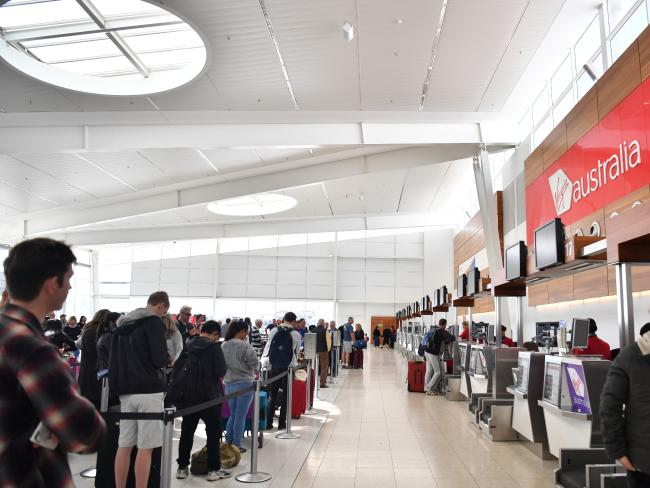 Airlines are also at risk from big computer glitches. Picture: Morgan Sette/AAP