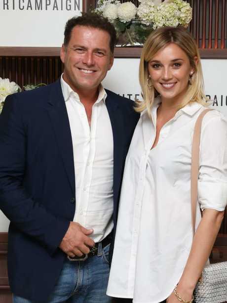 Karl Stefanovic and Jasmine Yarbrough