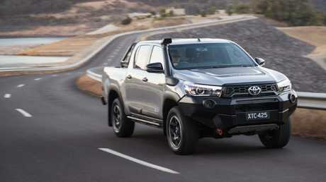 The HiLux is still one of the most refined and efficient utes in its class. Picture: Supplied.