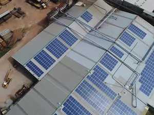 Notaras mill solar install flyover