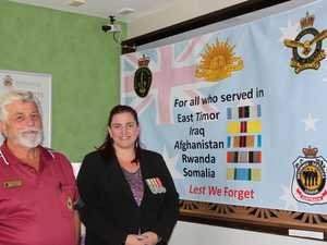 New flag for recent veterans at Anzac Day parade