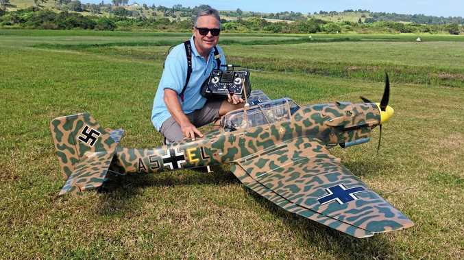 Model war plane took 2500 hours, but hard work pays off