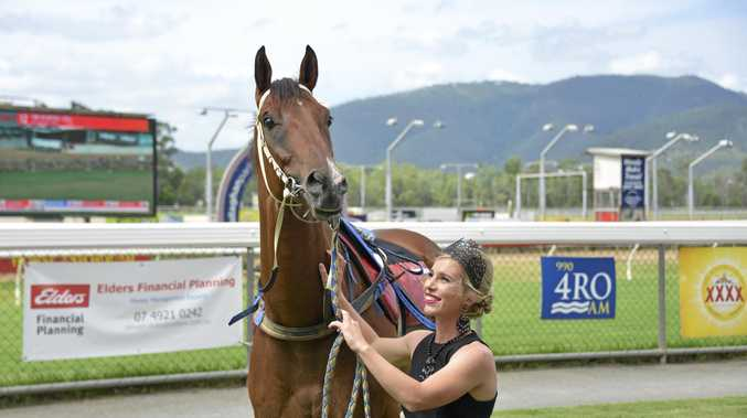 TOP CHANCE: Elyce Smith will ride top weight Motorised in the Yeppoon Cup.