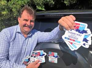 WAR HEROES: Stickers to pay tribute to our veterans