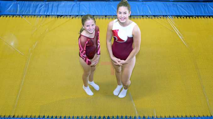 Victoria Park trampolinists Scarlett Price and Britney Glazebrook will compete at the Gymnastics Queensland Trampoline 2018 State Championships at Rockhampton's Hegvold Stadium this weekend.
