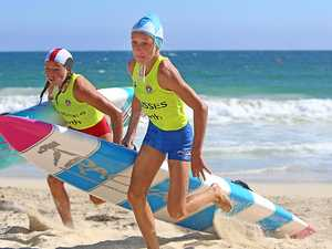 Olissa rules the sand and surf at Aussies