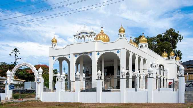 Dazzling achievement: New temple opens