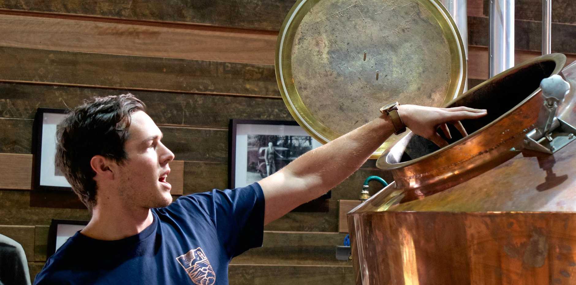 GIN WIN: Distiller Eddie Brook explains the methodology.