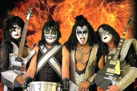 Kiss tribute, the Kissperience, plays at the Maryborough RSL this weekend.