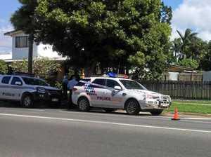 Crime scene declared as man critically injured