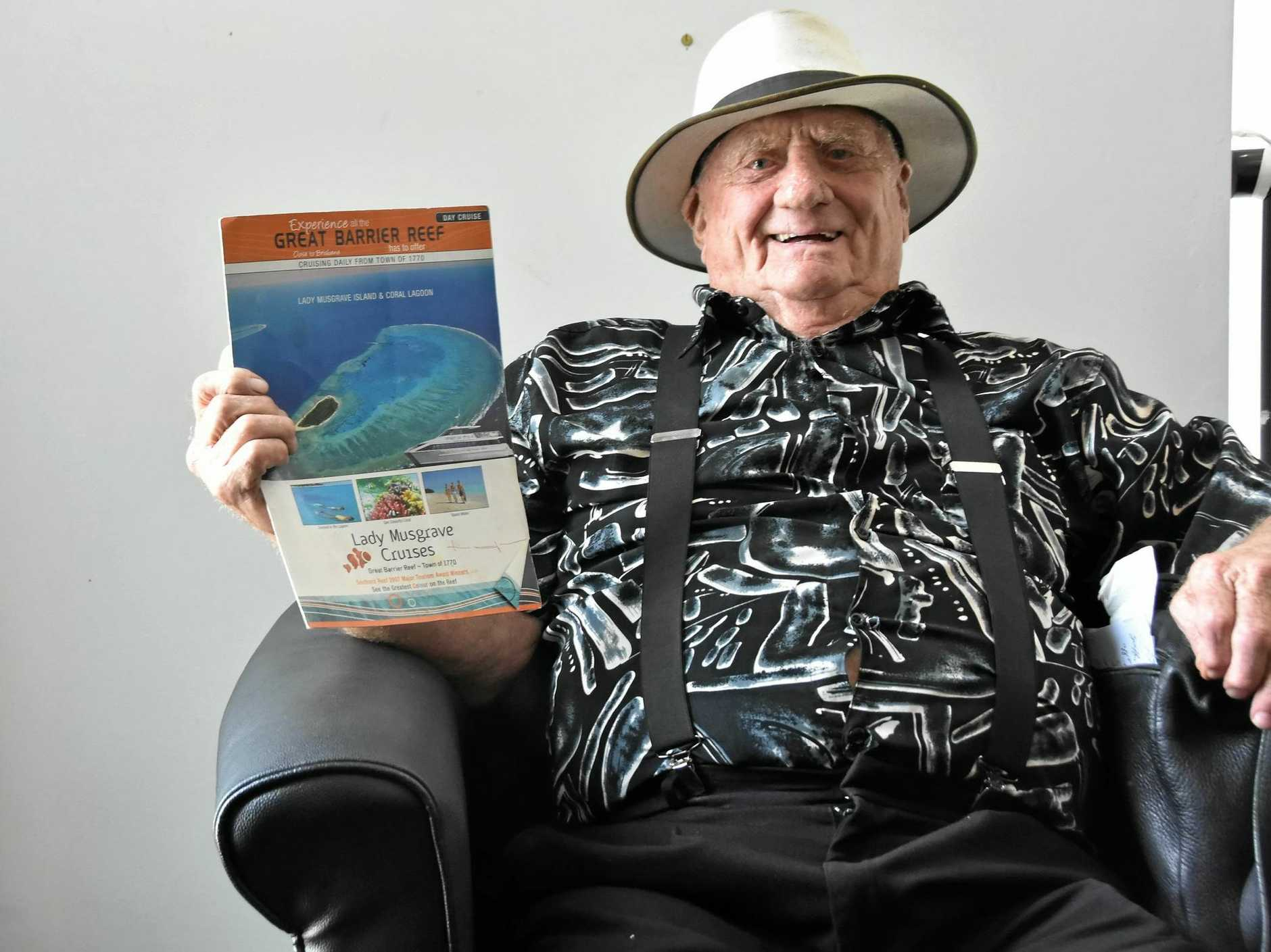 DETERMINED: John Clayton has fought hard to get Lady Musgrave Cruises back on track after a vessel sinking.