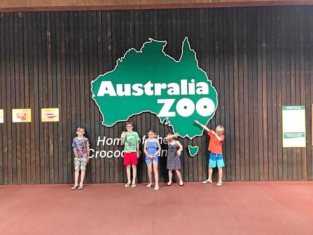 Ayden fulfilled his wish to visit Australia Zoo on a recent holiday.