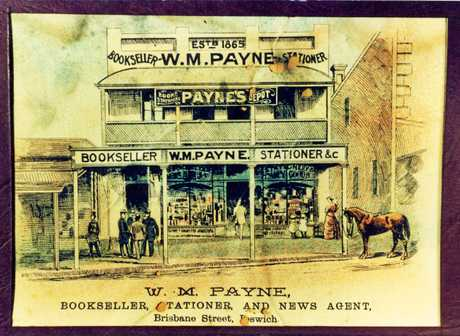 Paynes Depot sold many items in the 19th century.