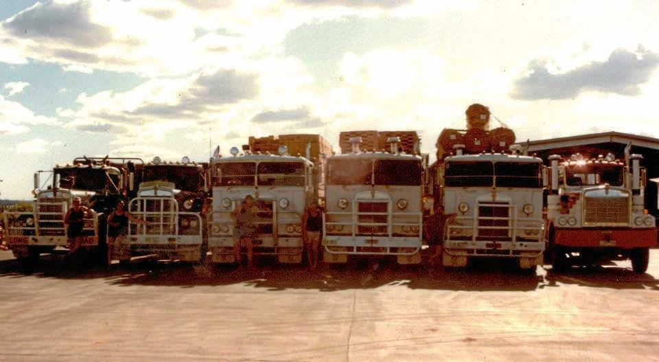 MEMORY LANE: The first six fleet of six in 1985.