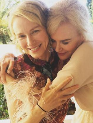 Naomi Watts and Nicole Kidman.  Picture:  Instagram.
