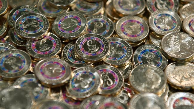 The coins were released through Woolies last year. Picture: AAP Image/Joel Carrett