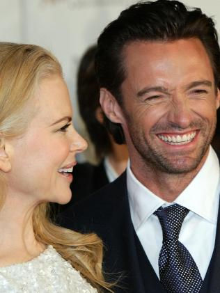 Hugh Jackman and Nicole Kidman in 2008.  Picture:  Supplied