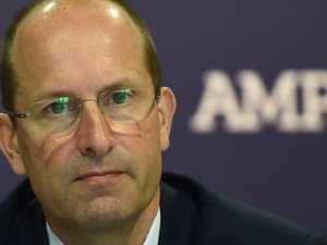 AMP boss quits over banking scandal