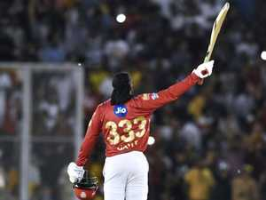 Gayle goes ballistic in furious IPL rampage