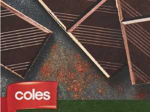 Coles recalls chocolate products