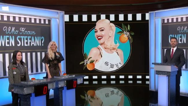 Gwen Stefani lost a quiz about her own life.