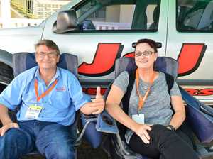 Jason Seymour and Tracy Ingram at Nambour for the