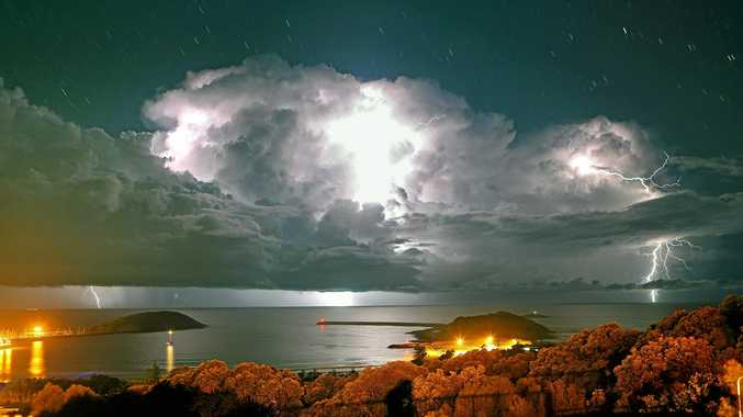 Sensational storm signals wet week ahead