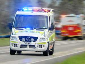 Motorists in hospital after two-vehicle crash flips car