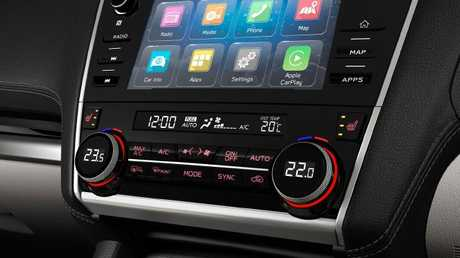 Timely update: Larger infotainment head unit, smartphone mirroring and voice control.