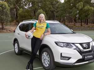 Behind the wheel, Diamond Jo drops the netball niggle