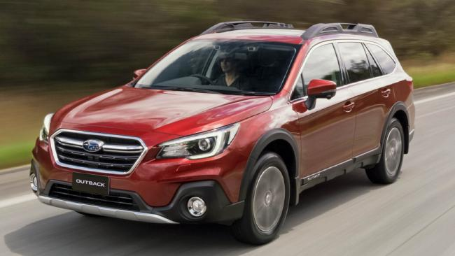 Subaru Outback Premium SUV protects and serves