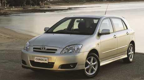 First car: Toyota Corolla.