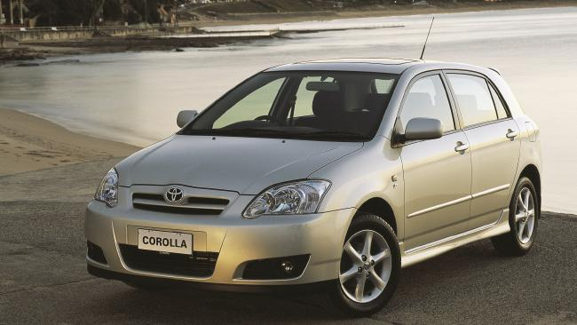 First car: Toyota Corolla.