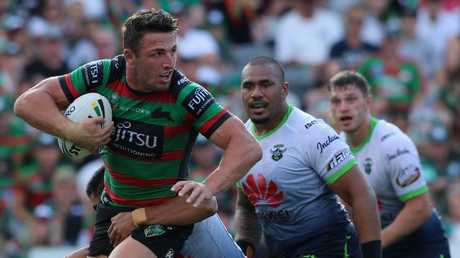 Burgess had one of the best games of his career.
