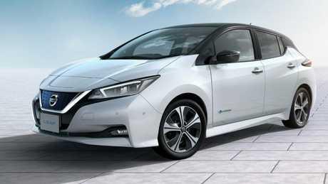 Stealth car: Nissan Leaf.