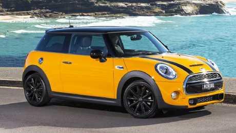 Dream car: Mini Cooper.