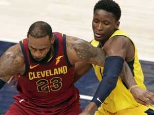 LeBron, Cavs in hole after blowing massive lead