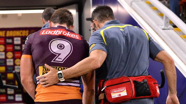 Brisbane have no specialist backup for McCullough.