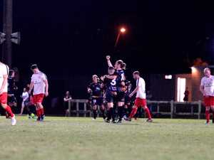 Magpies Crusaders celebrate their 5-3 win over
