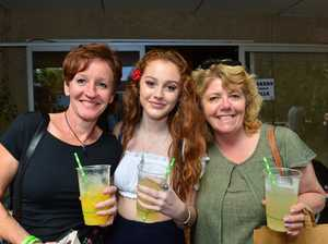 Leeanne and Evie Field with Liz Mullholland in Noosa