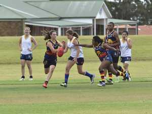 AFL women in action