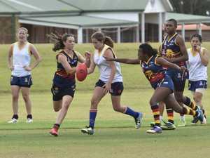 AFL women in action