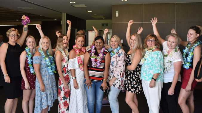 USC Fraser Coast's first cohort of graduating Nursing Science students.
