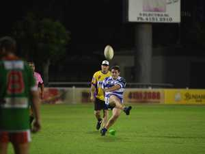 TWO MORE: Brothers player Ben Kuskey converts a try